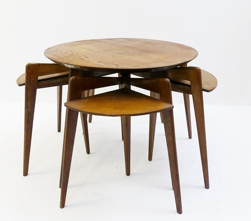 wood trundle tables