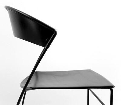 x 6 black metal dining room chairs chair seating via