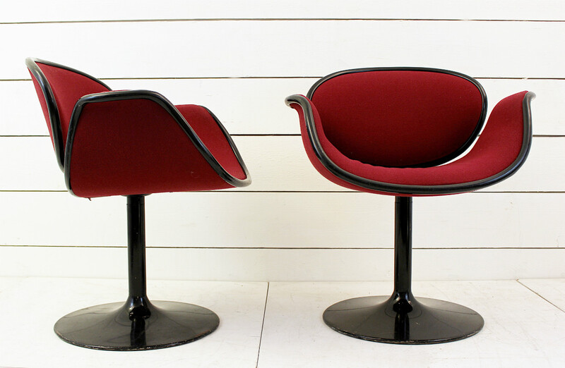x2 Artifort armchairs, Pierre Paulin