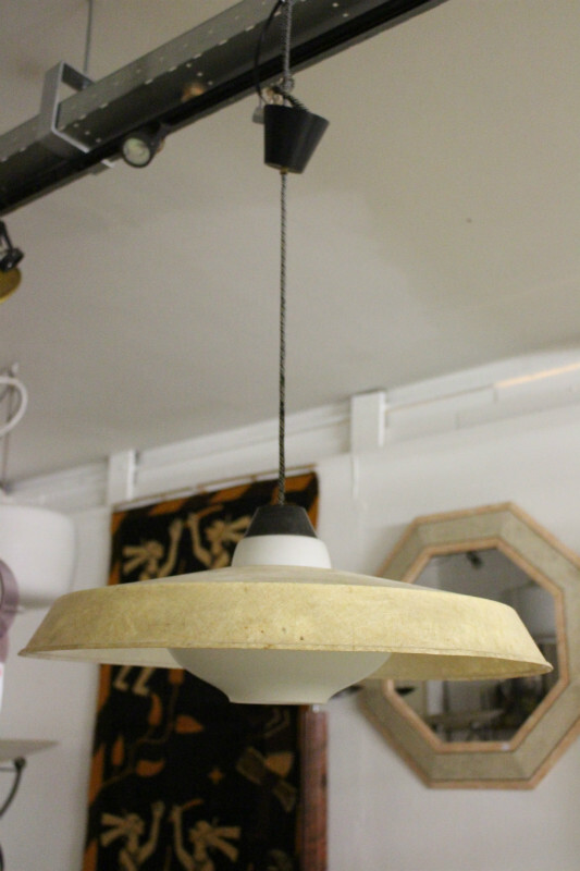 x2 ceiling lights with opaline